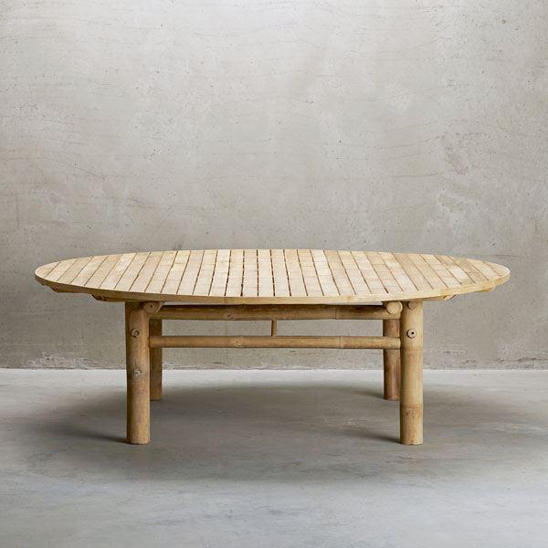 Bambus havemøbler – køb bambusmøbler til udendørs online