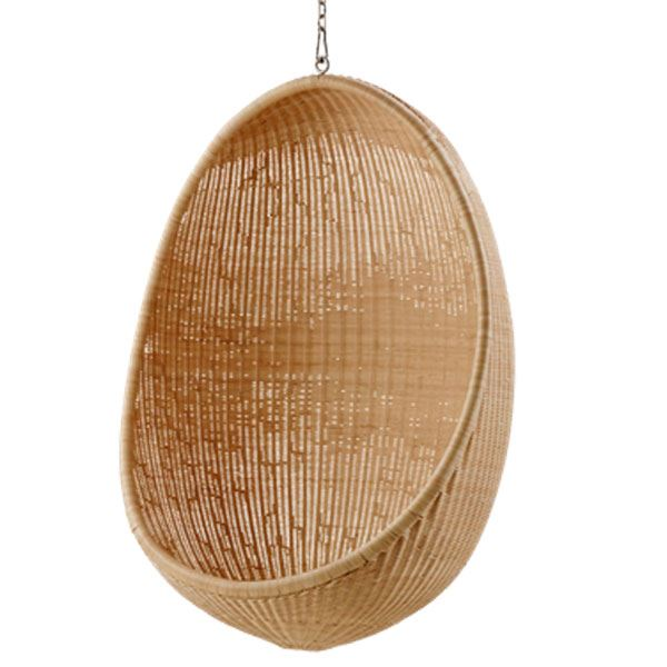 hængestol Hanging Egg Chair   smuk hængestol til haven Sika Design hængestol