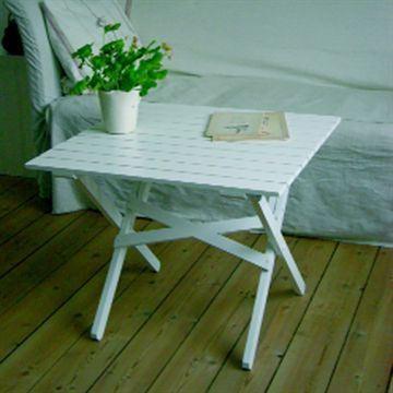 Havebord vallø 60 x 60cm fra skovshoved møbelfabrik
