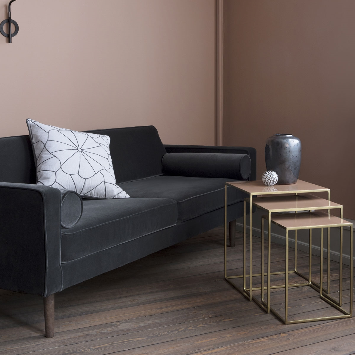 broste copenhagen sofa wind velour oeko tex magnet gr. Black Bedroom Furniture Sets. Home Design Ideas