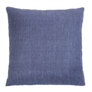 Cozy living Linen cushion pude Denim Blue  50 x 50cm