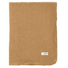 Gracie eco hør dug Indian Tan 160 x 200cm fra Broste Copenhagen