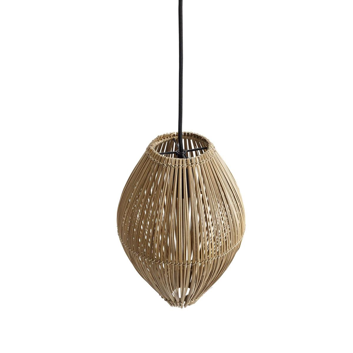 Picture of: Loftslampe Fishtrap S I Bambus H45cm Muubs