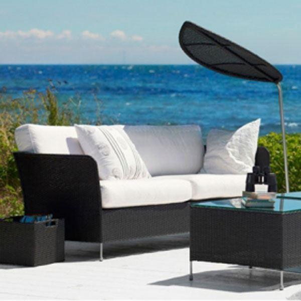 Orion sofa i teak grey polyrattan fra sika design
