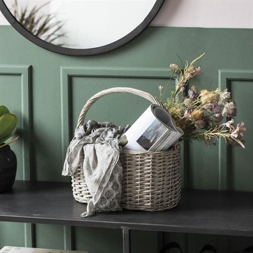 Blomst brunlige/grønne nuancer Ib Laursen - Nordic Livingroom