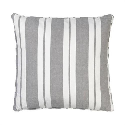 Pude Nordic Striped Cushion med fyld MUD 50 x 50cm Cozy living