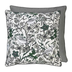 Cozy living living floral bird square dove