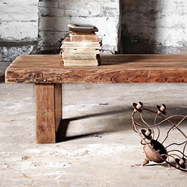 Sofabord Alexander i genbrugs teak fra Sika Design