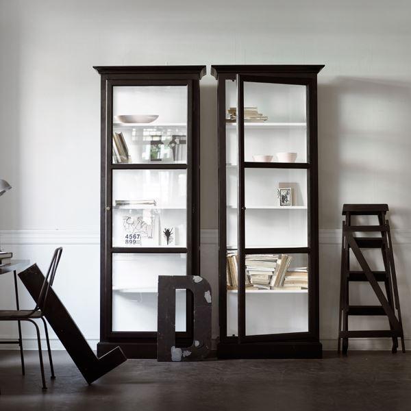 vitrineskab house doctor. Black Bedroom Furniture Sets. Home Design Ideas